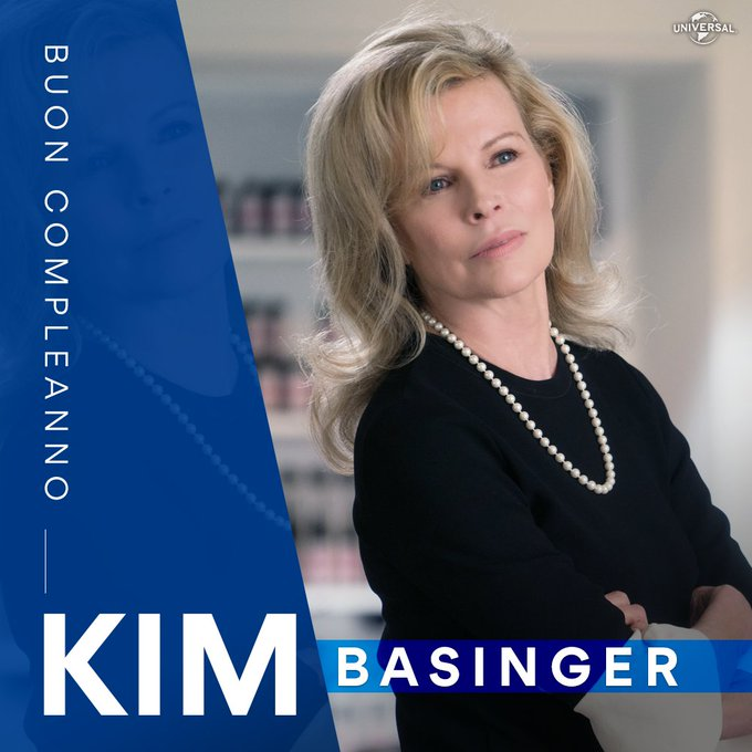 Happy Birthday Kim BASINGER!!   Alias Mrs Robinson in Cinquanta Sfumature