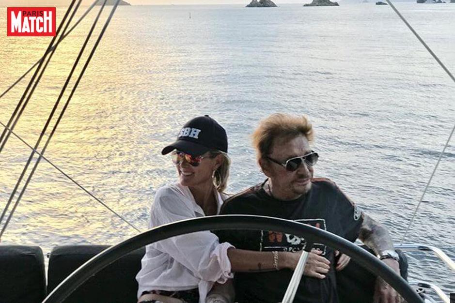 Johnny Hallyday: son amour pour Saint-Barthélémy