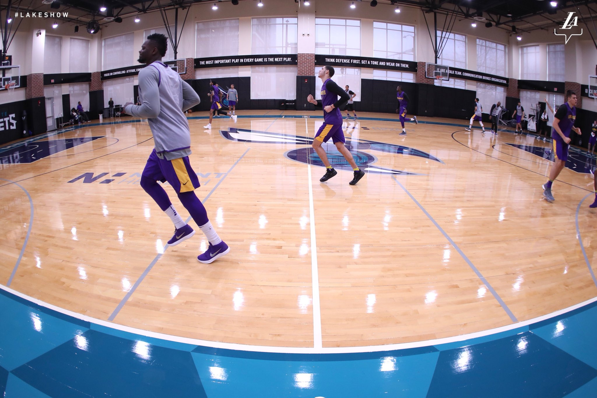It's a #LakeShow Friday in Charlotte https://t.co/KAfVoWJljh