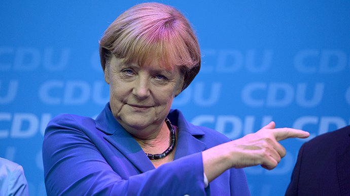 Germany's Social Democrats approve exploratory talks on Merkel coalition govt