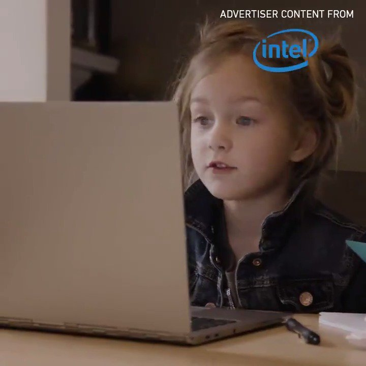RT @verge: Where does this 7-year old comedian get her inspiration? [Advertiser content from @Intel] https://t.co/rLaP6dLy2H