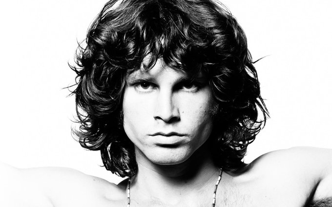 Happy Birthday, Jim Morrison. The late front man from would have turned 74 today.