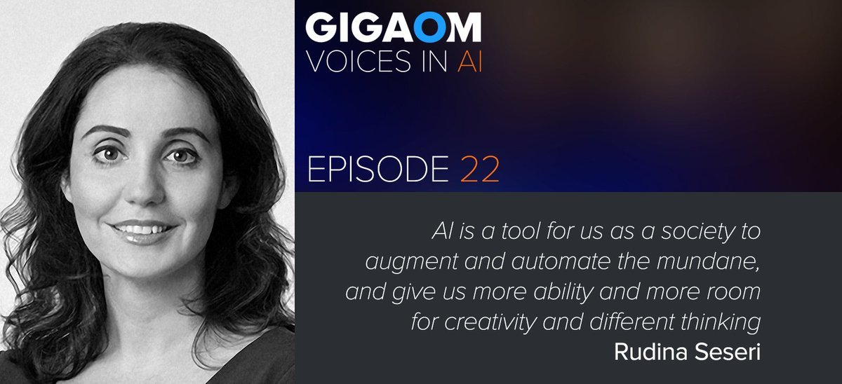 test Twitter Media - Listen to Episode 22 of #VoicesinAI w/ host @byronreese joined by Rudina Seseri founder of @GlasswingVC talking investing in #AI - #Startups and more. https://t.co/wOqP8NmJQm https://t.co/HsWzkoivWy