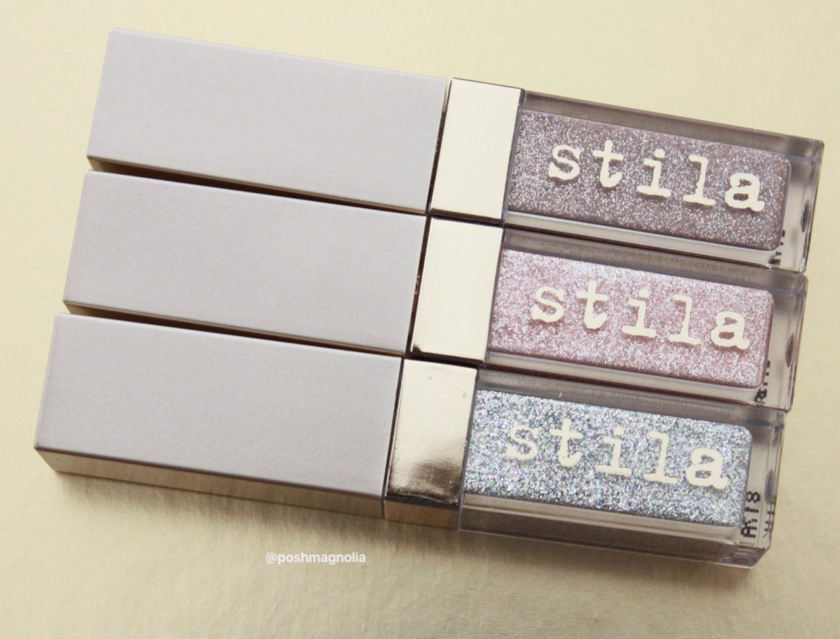 glitter These eye shadows are amazing!...