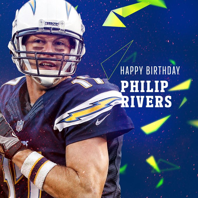 Join us in wishing QB Philip Rivers a HAPPY BIRTHDAY!