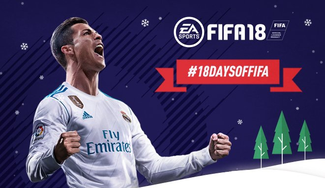 It's the #18DAYSOFFIFA! Day 1 features a PS4, Ronaldo and Ronaldinho #FUT items and more! Check Instagram each day for a chance to win: https://t.co/uVnMPfuRc7 https://t.co/JFTuydt9i1