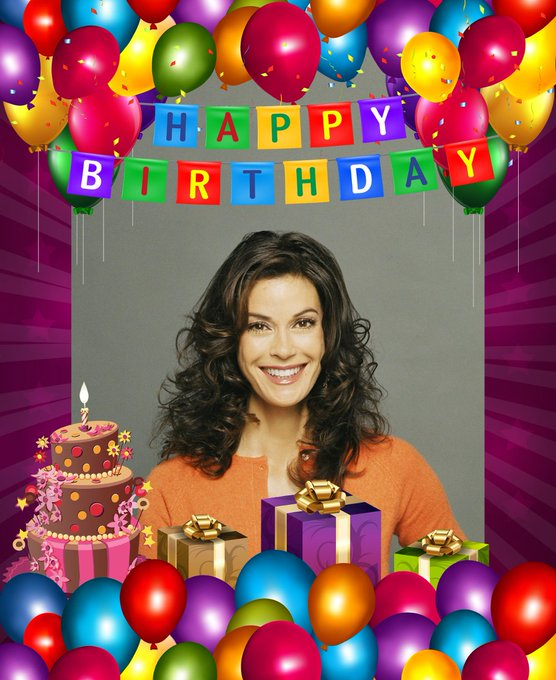 Happy birthday to Teri Hatcher. Hope it\s a great day for you.