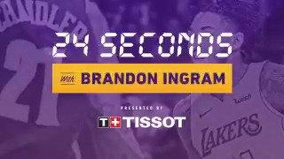 He hit last night's game winner, learn more about Brandon Ingram, presented by @Tissot. https://t.co/nBTg21tvP7