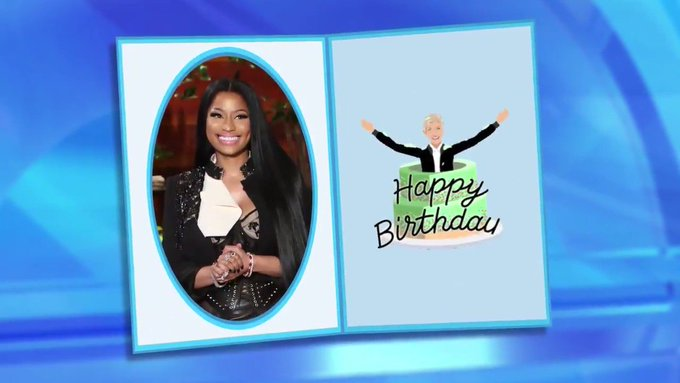 Happy birthday to the 1st Nicki Minaj.