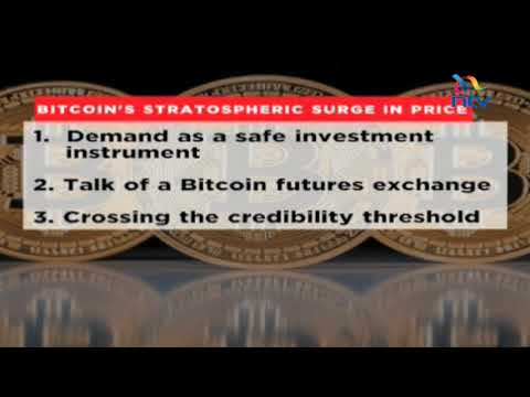 Value of bitcoin rises to USD 17,000 a piece