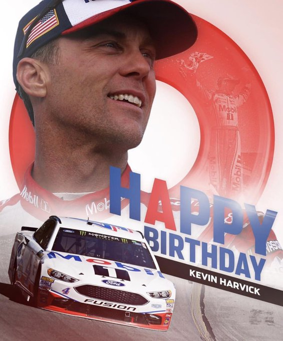 Happy 42nd birthday to The Closer Kevin Harvick!
