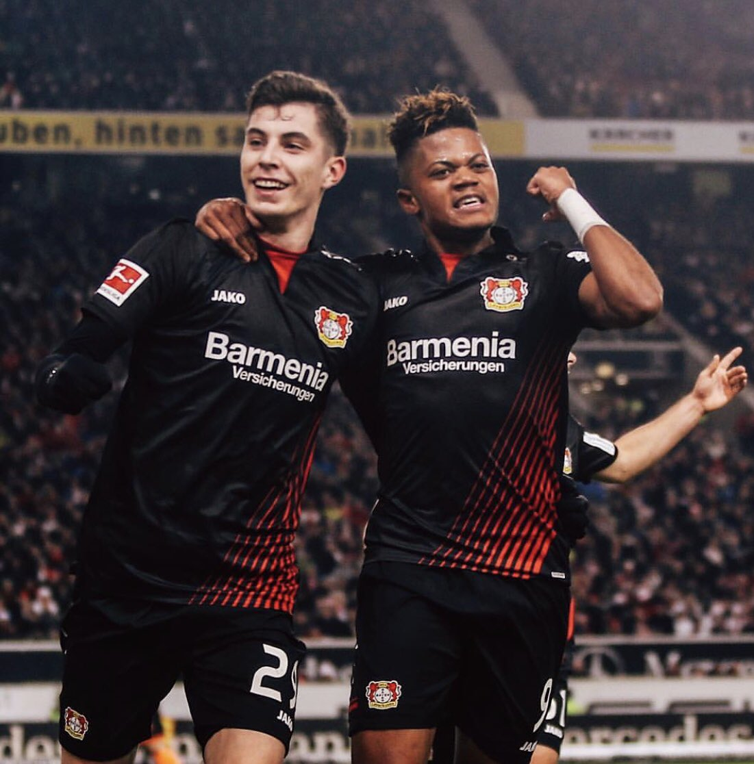 3points, 2 assists, 10 games undefeated, StärkeBayer! ⚽️🔥🙏🏽 @bayer04fussball  #GodIsInControl #LB9 https://t.co/OPrgTukwQ6