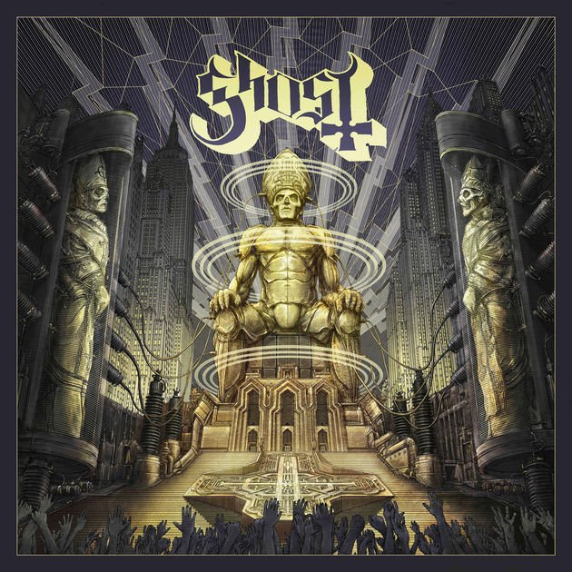Ceremony and Devotion, the new live album from @thebandGHOST, is out now >>> https://t.co/P2NuWSjqsN https://t.co/VBkrWmvgBi