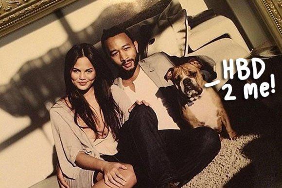 Chrissy Teigen & John Legend Wish Their \Firstborn\ A Happy Birthday -- \Yes