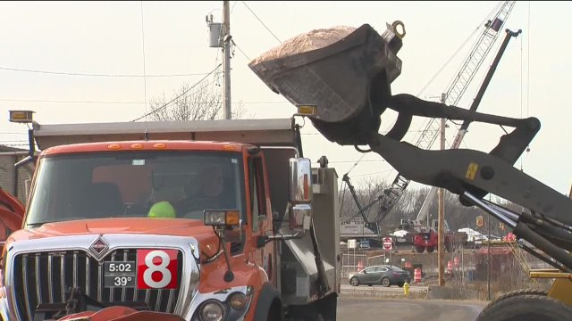 DOT and Public Works get ready for first snowfall