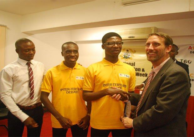 University of Ghana Wins Anti- Corruption Debate