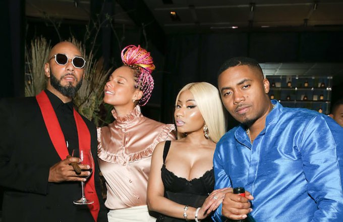 "Nas Says Nicki Minaj is ""the Queen of New York\"" in Birthday Post"
