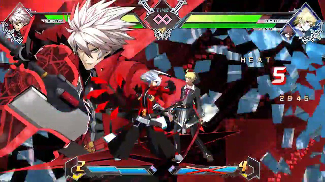 Just revealed: BlazBlue Cross Tag Battle is coming to PS4 in North America in 2018! https://t.co/VNxSzk3c1K