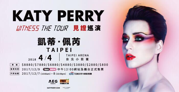 TAIPEI❗️Your �� to #WITNESSTHETOUR are available now! Will I �� you there? https://t.co/7muOBucSEl https://t.co/O72HW0yS1E