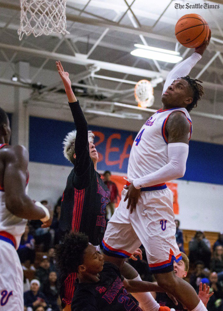 test Twitter Media - Dunk master Kevin Porter Jr. threw down seven dunks en route to 31 points as Rainier Beach improved to 3-0 by beating Nathan Hale 96-66.   https://t.co/9mDG2H6xio https://t.co/1bSadlPpW0