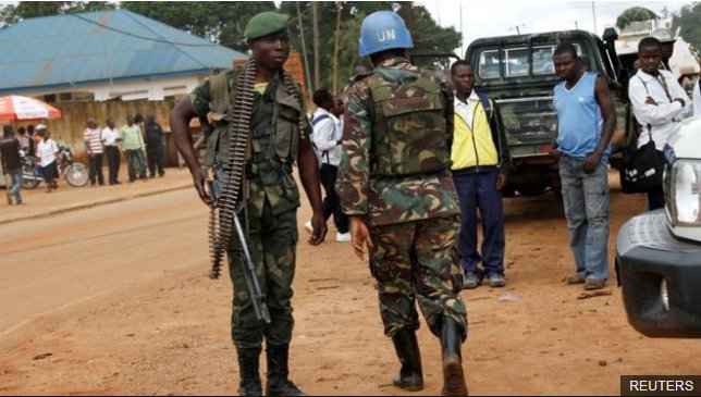 UN peacekeepers killed in DR Congo