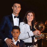 Cristiano Ronaldo's sister mocks up picture of late father watching son win Ballon d'Or