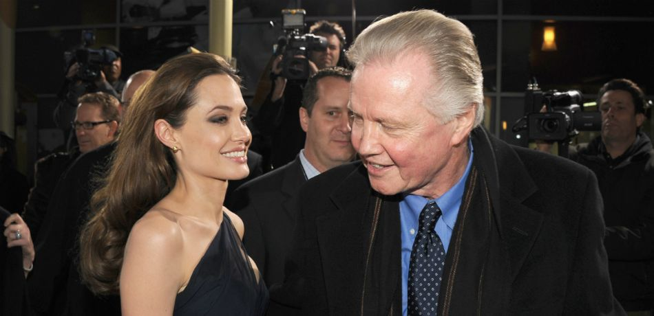 Angelina Jolie And Her Father Jon Voight Reconcile