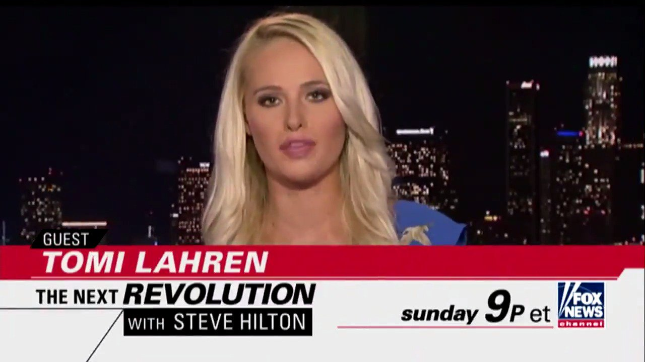 TOMORROW on @NextRevFNC, @SteveHiltonx talks to @TomiLahren - Tune in at 9p ET on Fox News Channel! https://t.co/jBjyPHngCc
