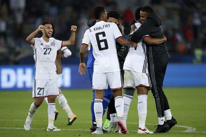 @BroadcastImagem: Com Romarinho decisivo, Al Jazira vence Urawa e enfrenta o Real Madrid na semi do Mundial de Clubes. Hassan Ammar/AP