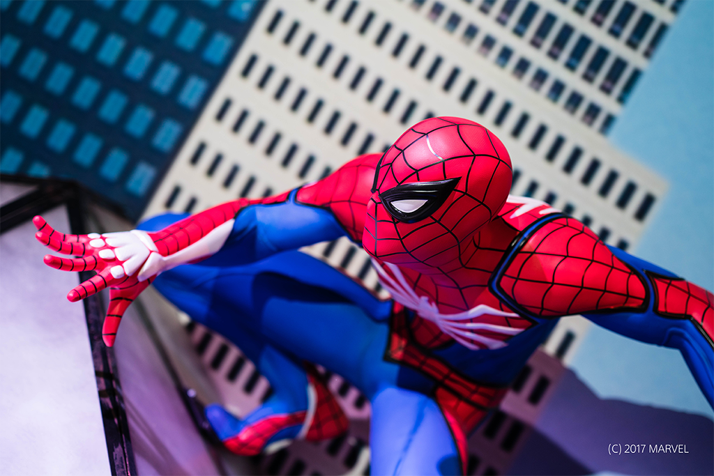 Marvel's Spider-Man made its mark at PSX 2017 in Anaheim with a big slice of New York City! https://t.co/mD1DjkltG1