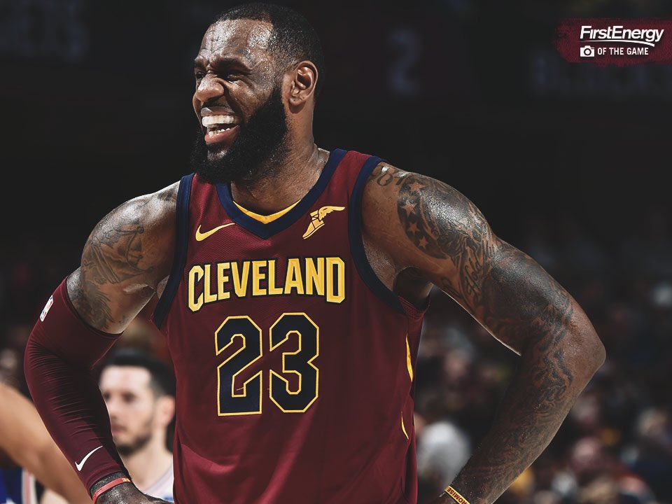 30 points, 13 rebounds, 13 assists, 3 steals.   Just another day in the life of @KingJames. ��  #StriveForGreatness�� https://t.co/Wm978zPovW