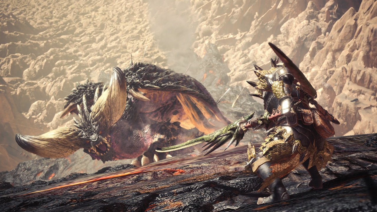 The fate of the New World is in your hands, hunter. Monster Hunter: World comes to PS4 on January 26, 2018. https://t.co/0wdCLFXAGS