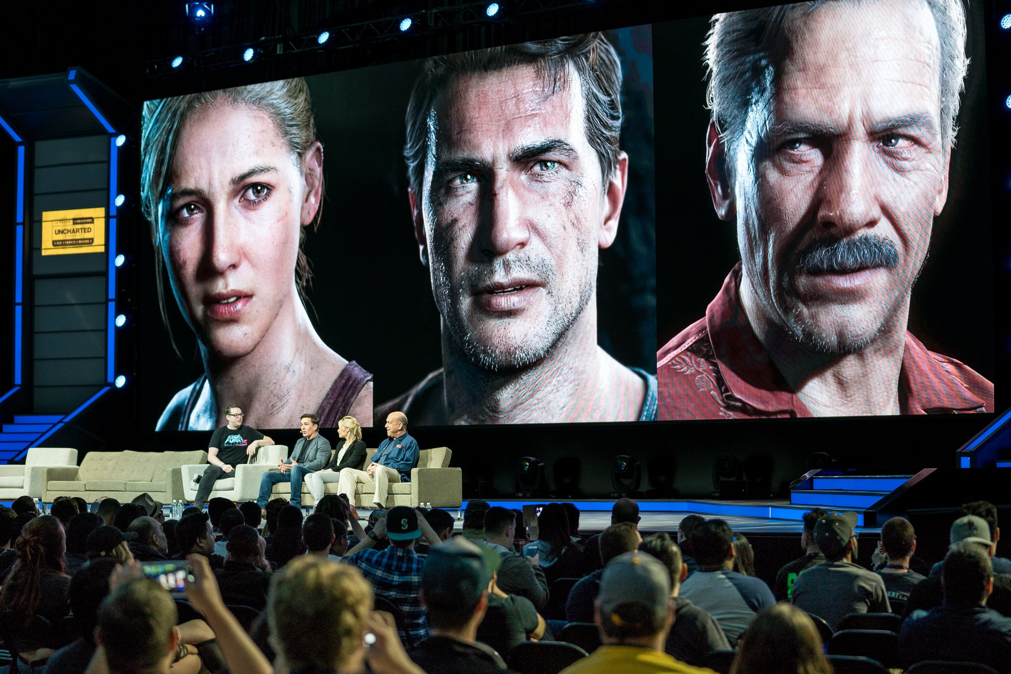 Nate, Elena and Sully take the stage. #PSX  https://t.co/6WGSKHicJz https://t.co/oMcPL6PRyw