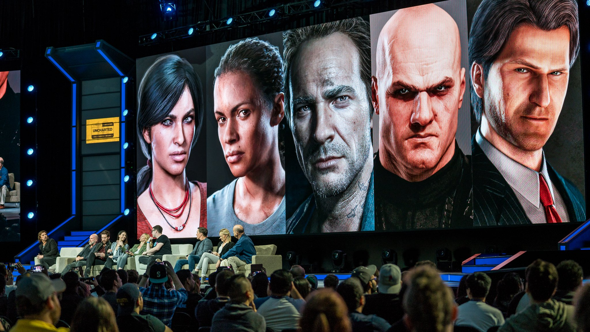 How many Uncharted actors can we fit on one stage? Let's find out! #PSX  https://t.co/6WGSKHicJz https://t.co/K52OntXm6Z