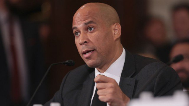 """Booker stumps for Jones in Alabama: """"Bad people get elected when good people don't vote' https://t.co/OlWHCZbdQv https://t.co/GC7QxS8LXj"""