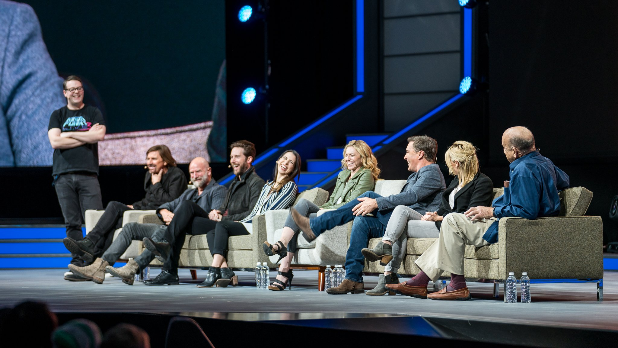 Good times at the #Uncharted10 panel <3 @Naughty_Dog #PSX https://t.co/LXO0IRbQFH