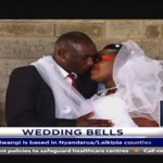 Citizen TV's Peter Mwangi weds Ann Wangui