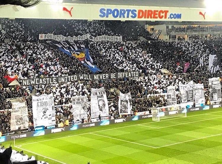 RT @footyawayday: Newcastle at home to Leicester yesterday  #nufc https://t.co/PGZsDt7435