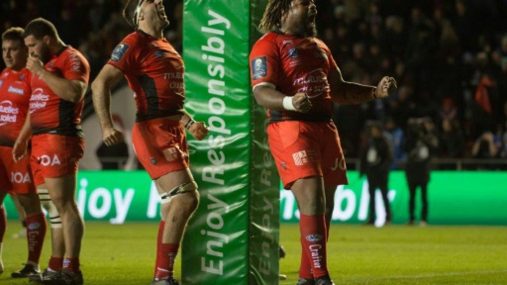 Belleau's Toulon cameo bails out Ashton