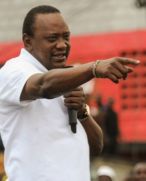 Kenya president says no talks with defiant opposition leader