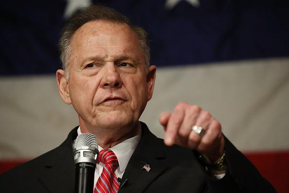Trump will record a robocall for Alabama's Roy Moore just days before the election