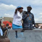 Ngilu asks Uhuru to vacate office for Raila