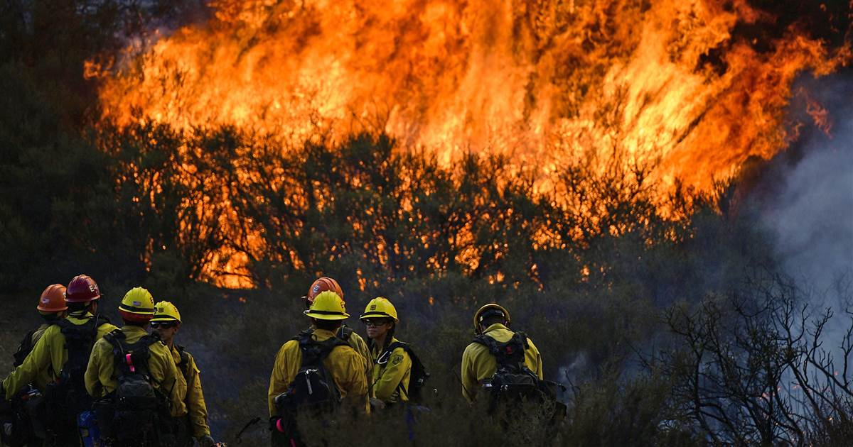 """California faces """"new normal"""" of intense wildfires, governor says"""