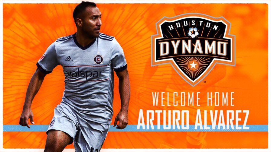NEWS | @HoustonDynamo acquire @artieart10 from @ChicagoFire. #ForeverOrange #cf97 https://t.co/nLSrY6dS2f