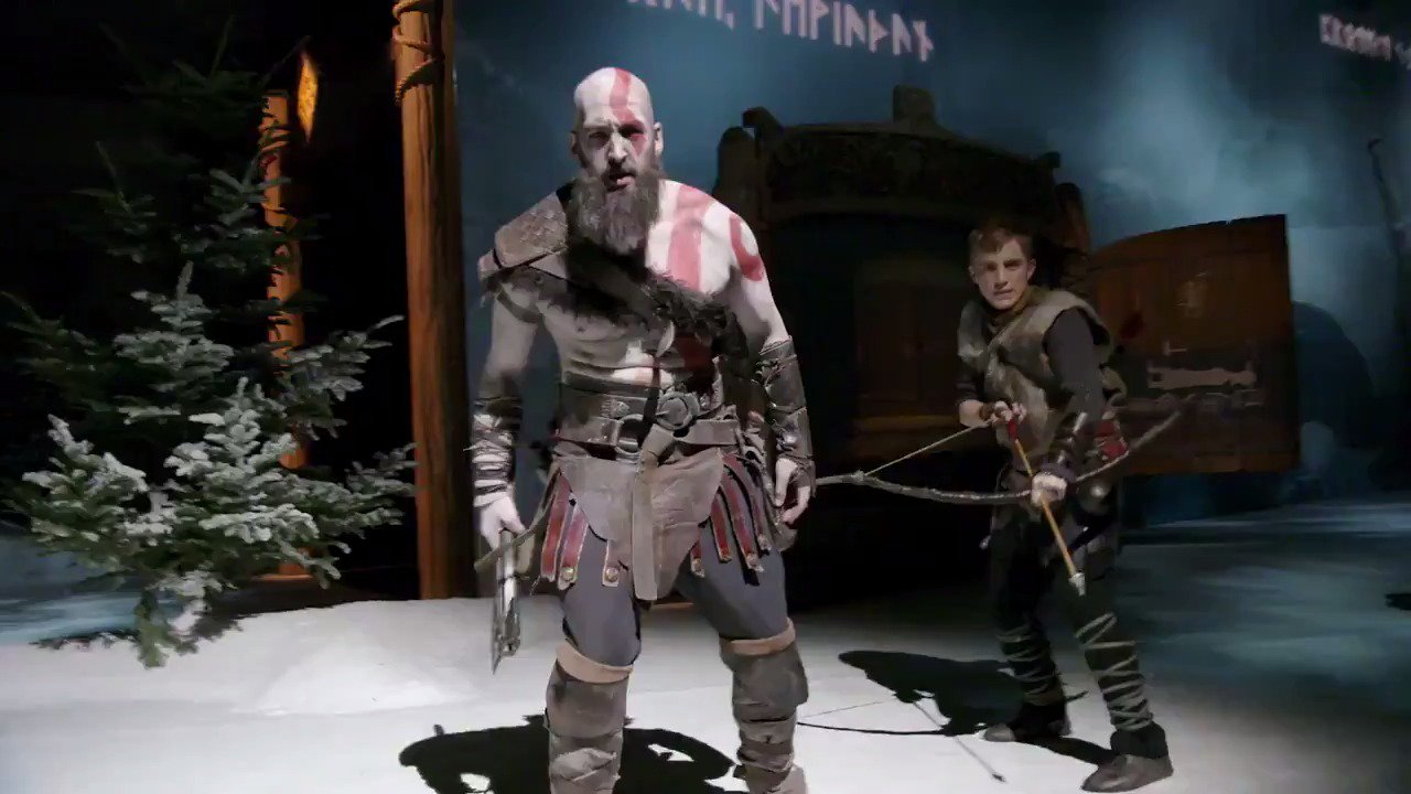 'Now you are ready.' See Kratos' transformation at #PSX. #GodofWar https://t.co/PAmImB44cE