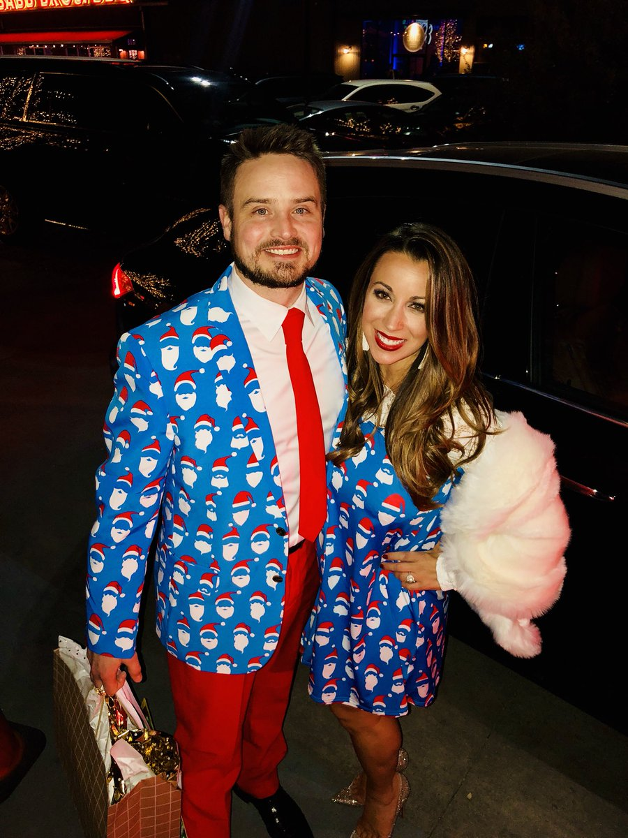 test Twitter Media - I'm not on the show today because we went to Heath's company Christmas party... and of course we had to dress is the most ridiculous attire possible 🌟 https://t.co/Jmg5nLzu95