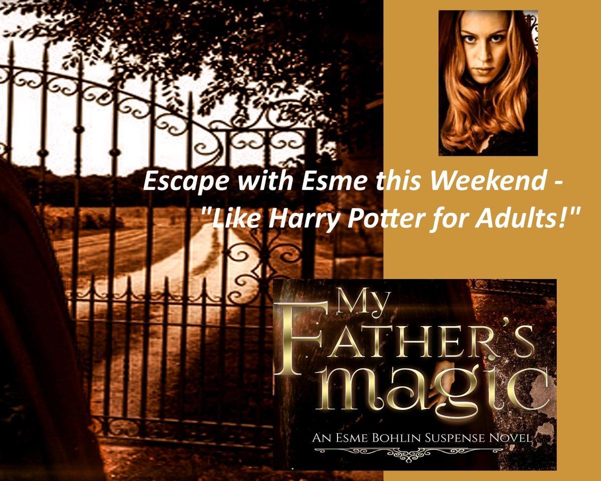 RT @IngridFoster: Need an #Escape this #Weekend?  #Suspense #Magic #ASMSG https://t.co/oz4RYXvHbu https://t.co/ToksAMGWZr
