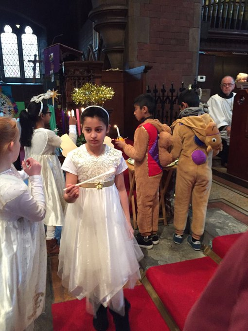 RT @StPhilipsBolton: What a wonderful Christingle service this morning with Bishop Bridgeman #nativityparade https://t.co/NLqA6JZEsA