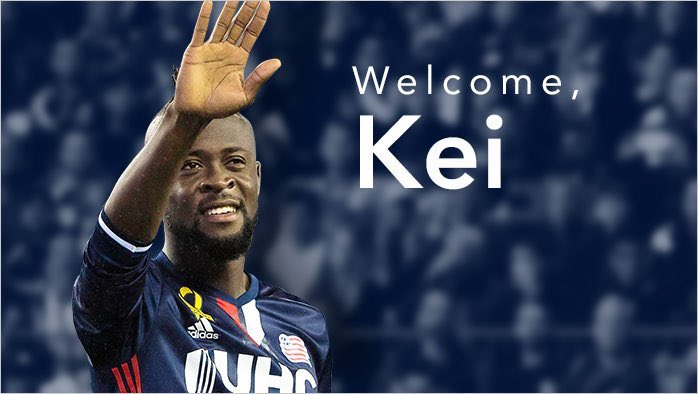 TRADE | @WhitecapsFC have acquired striker @keikamara from @NERevolution. #VWFC #NERevs https://t.co/7yqW4IB3ic