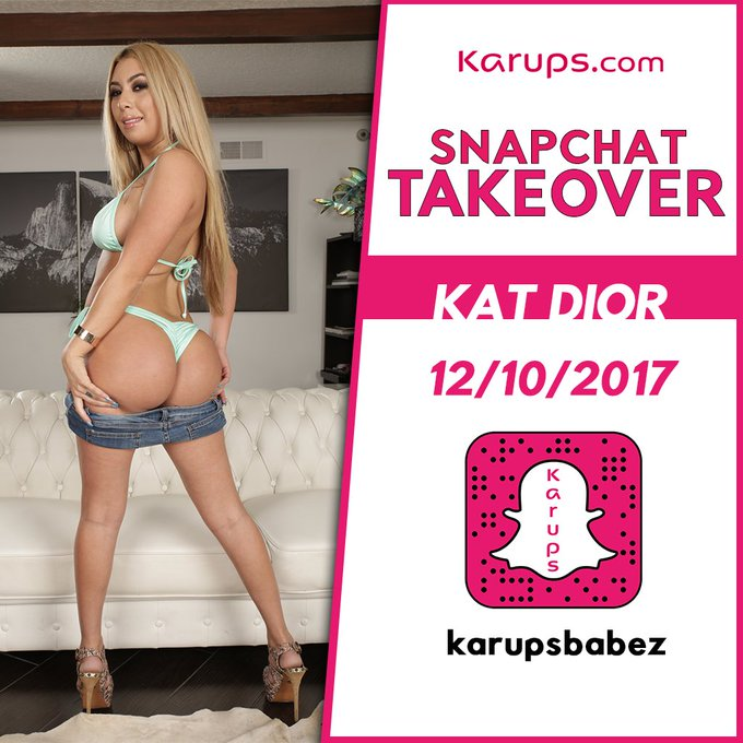 Taken over the @officialkarups Snapchat today 😈🔥📸 follow karupsbabez and follow me around for the day